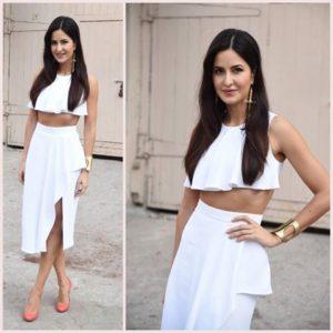 katrina kaif white dresss