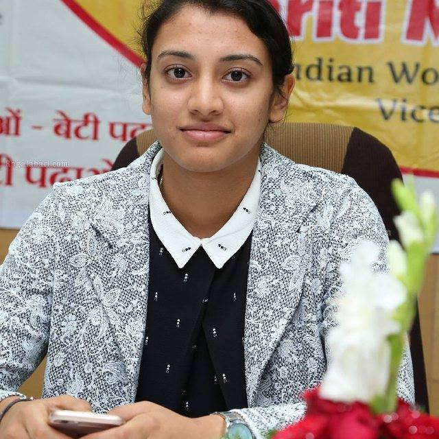 Smriti Shriniwas ManSmriti Shriniwas Mandhana - (born 18 July 1996) is an Indian cricketer who plays for the Indian womens national team. In June 2018, the Board of Control for Cricket in India (BCCI) named her as the Best Womens International Cricketer. In December 2018, the International Cricket Council (ICC) awarded her with the Rachael Heyhoe-Flint Award for the best female cricketer of the year. She was also named the ODI Player of the Year by the ICC at the same timet Award for the best female cricketer of the year. She was also named the ODI Player of the Year by the ICC at the same time