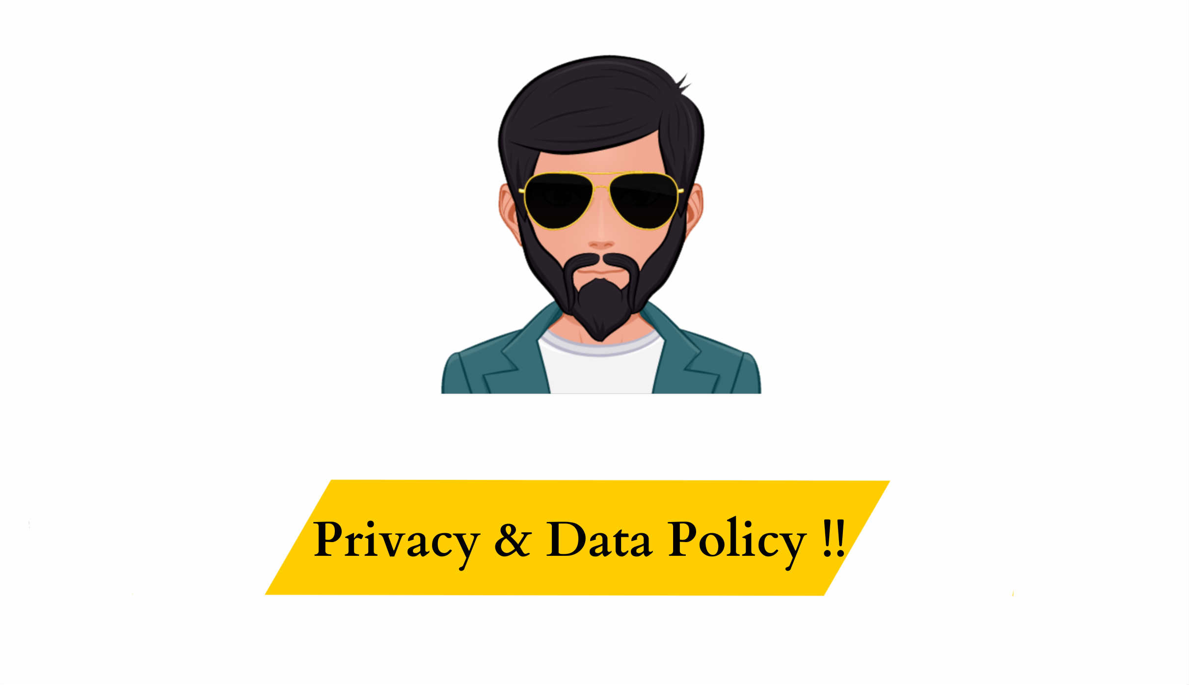 Privacy & Data Policy !!